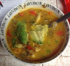 #Advocarepintowin2013 Mexican Chicken Quinoa Lime Soup #Advocare #Paleo #CleanEating #TeacupsandTutus