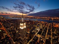 New York's observation deck; the Empire State Building