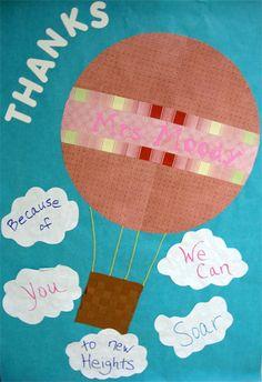 Teacher Appreciation door decoration ideas.