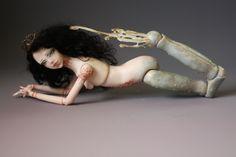 Henna Mermaid Porcelain BJD Ball Jointed Dolls by Aidamaris Roman
