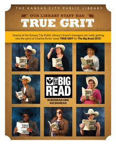 Our branch managers really got into the True Grit spirit for the Big Read! http://kcbigread.org