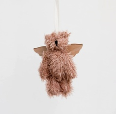 $12 bear with wings ornament