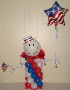 4th of July Balloon Decoration