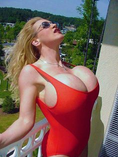 Milf With Huge Silcon Tits