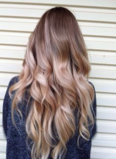 light hair ombre, light brown ombre, ombre hair blonde and brown, curl, light balayage, beauti, dark blonde hair ombre, blond ombré, light brown balayage