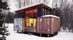 Shipping containers! lol