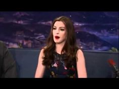 Anne Hathaway's Rap - Oh. My. God this is the best thing I've ever seen!!! Just watch and enjoy! you will LOL she opens her mouth and the LAST thing i would expect came out!