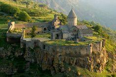 9th century Armenian Monastery of Tatev in southern Armenia.