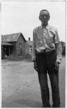 """LOUIS FOWLER, 84, was BORN A SLAVE to Robert Beaver, in Macon Co., Georgia. Fowler did not take his father's name, but that of his stepfather...'bout my pappy, I lets you judge. Look at my hair. De color am red, ain't it? My beard am red and my eyes is brown and my skin am light yellow. Now, who does you think my pappy was? You don't know, of course, but I knows, 'cause on dat plantation am a man dat am over six feet tall and his hair as red as a brick."""" (Texas Slave Narratives 1937)"""