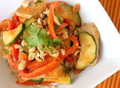 A Globe Trotter's Fare: Coconut Curry Pork with Summer Veggies