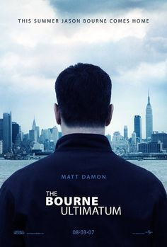 film, movie characters, action movies, matt damon, bourn ultimatum, spi, poster, book, watch movies