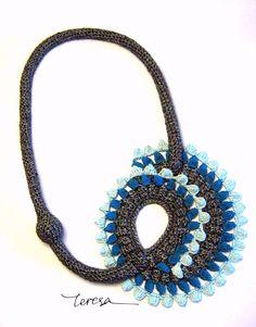 crochet unique jewellery