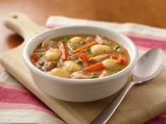Slow Cooker Chicken and Gnocchi Soup