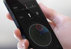 An Air of Sophistication and Mystery Gorgeous Dark Mobile App Interfaces - Designmodo