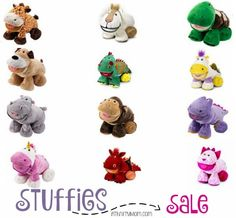 Stuffies sale, gift