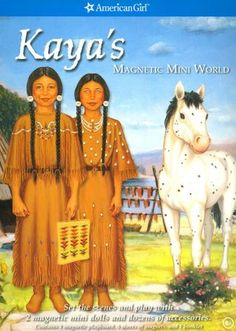 Kaya's Magnetic Mini World (American Girls Collection Series: Kaya)