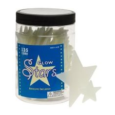 Jar of Glow in the Dark Stars. Great stocking stuffer or small gift and a fun way to learn about constellations.