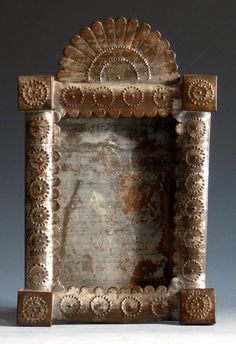 Punched Tin Frame - Mexico
