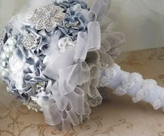 Bridal Brooch Bouquet.