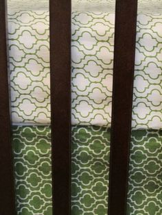 Love this pattern. #nursery #bedding