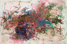 grandes carrières - oil - by joan mitchell