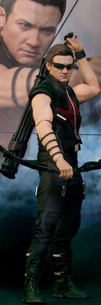 Hawkeye Sixth Scale Figure - The Avengers movie version