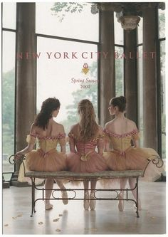 New York city ballet Spring Season 2002. dance