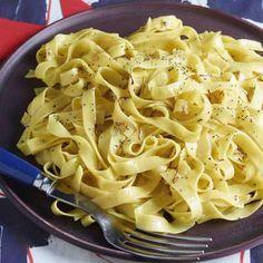 Buttery Saffron Tagliatelle