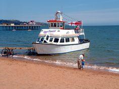 Pleasure Boat Trips, Paignton Beach, South Devon, England. ilovesouthdevon.com #devon
