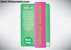 Green banner design with purple ribbon over it. Get premium green banner design in Adobe Illustrator.