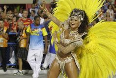 A atriz Juliana Alves foi rainha de bateria da Unidos da Tijuca. Foto: Roberta Moreyra