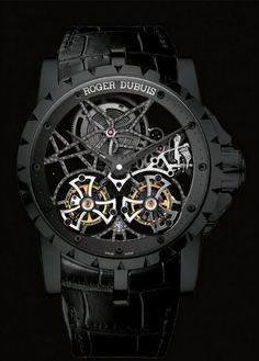 Excalibur Skeleton Double Flying Tourbillon by Roger Dubuis YES!!!
