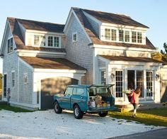lake houses, cape cod style, jeep, dream, garag, facad, beach houses, little cottages