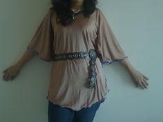Easy Kaftan shirt/dress tutorial