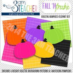 Fall '14 Freebie by The 3AM Teacher!!!  http://www.3amteacher.com/store/p86/Fall_%2714_Freebie_Set%21.html