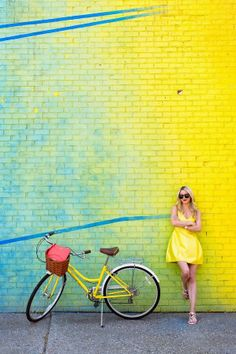 #dresscolorfully our structured silk mini dress on @Blair Eadie // Atlantic Pacific  photographed by @Bess Friday