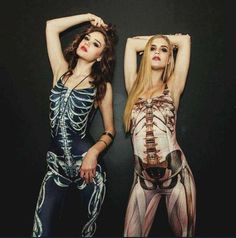 Skeletal and Muscular system body suits