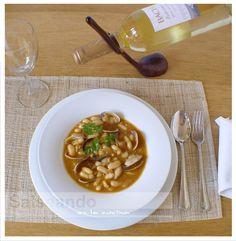 Salseando en la cocina: Pochas con almejas, al estilo mediterráneo