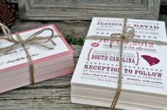 Wedding Invitation Rustic Country