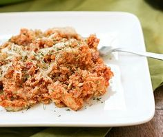 Baked Quinoa and Chicken Parmesan | AllFreeCasseroleRecipes.com