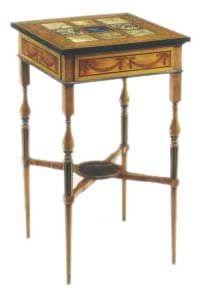 Satinwood Table