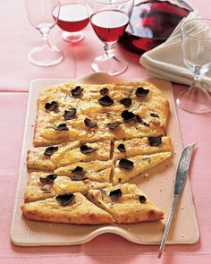 Taleggio Flatbread Recipe