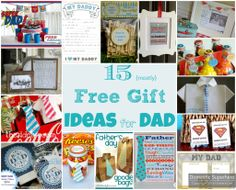 awesome 15 {Mostly} Free Gift Ideas for Dad