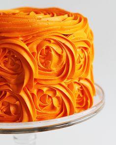 Orange Rose Cake!