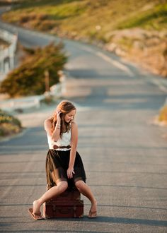 Chloe Photography 2011 #senior, love it--the road yet to be traveled