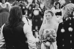 This emotional wedding ceremony breaks my heart so beautifully, photo by Christina Carroll Photography, Austin, Texas | via junebugweddings.com