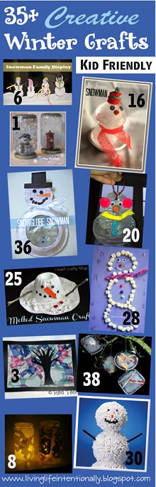 35+ Fun, creative crafts for kids!
