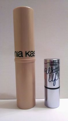 Sonia Kashuk Chic Luminosity Highlighter Stick Review Sparkling Sand. Benefit Watts Up Dupe!