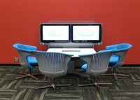 Media:scape, by Steelcase. For open collaboration spaces.
