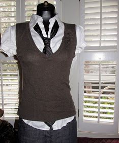 WobiSobi: Project Re-Style: sweater to vest